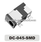dc power jack 2.5mm DC-045-SMD