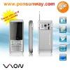 Three SIM Card Three Standby Low End GSM Mobile Phone