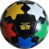 Children's Customized Hot Selling Star Design Mini Inflatable Toy Football