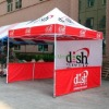 Aluminum tent with custom printing