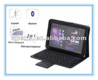 Case for samsung p7300/For 8.9 inch samsung galaxy tablet leather case with bluetooth keyboard