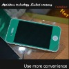 color screen protector for iphone 4,for iphone 4 screen protector,clear screen protector