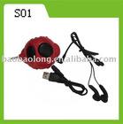 red mini speaker