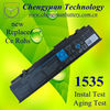 Hot sales laptop battery for Dell Studio 1535 series, WU946 models