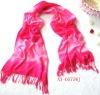 fashion design shawl scarf space dyeing