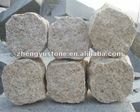 Chinese yellow granite Cube Stone
