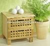 solid wooden storage organisation unit,2 drawer chest, walnut,oiled