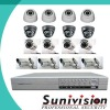 16 Cameras H.264 CCTV Standalone Cheap DVR Kit