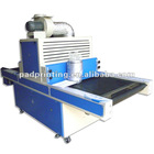 plastic material screen printer UV drying machine