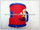 Promotional sonvenir football plastic mug