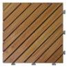 Acacia wooden garden flooring with PE base-A12P3030PD