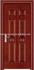 Asia oem fire rated steel wooden door