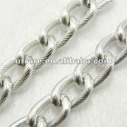 16*11mm Silver Aluminium Rope Decoration Chain for Jewelry Necklace