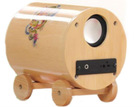 Peculiar Mini Bamboo Voice Box/ Speaker Box with FM Radio,For Promotion Gift