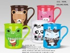 plastic cartoon cup /lovely drinking mug 705ml