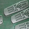 silver coated plastic remote shell