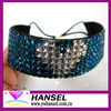 Fashion glitter crystal elastic rhinestone headband 7 rows