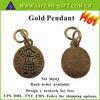 Custom Made Logo Gold girl hands up pendant