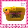 Cute Duck shape furry photo frame for gift