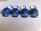promotion key chain plastic key chain helmet key chain with logo