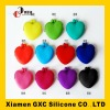 2012 newest design heart-shaped silicone coin case