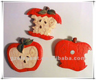 3d fridge magnet poly resin fruit design