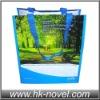 pp woven bag with opp film