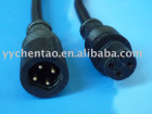 Waterproof connector with 4 pin