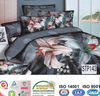 reactive printed cotton duvet cover set
