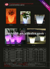 flash flower pot / Led flower planter