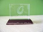 crystal trophy, crystal decoration