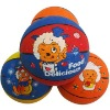 cartoon logo rubber basketball for promotion