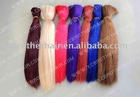 HOT!!! colored remy hair bulk with competitive price