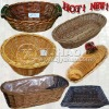 Natural Color Handmade Bread Basket