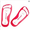 Pink sticky feet