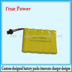 Ni-cd Cordless phone battery pack 6.0V 500mAh