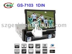 GS-7103 1 Din car dvd player