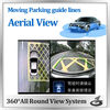 Latest 360 Degree car parking System with four cameras