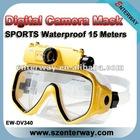 Underwater scuba diving mask DVR Camera (EW-DV340)