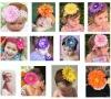 New fashion top pretty handmade baby headbands