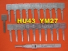 Lishi Auto Lock Decoder_HU43 YM27 For Opel Daewoo
