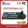 3 dimensional joystick CCTV keyboard