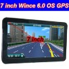 7'' Touch Screen Bluetooth Wince 6.0 OS GPS Navigator