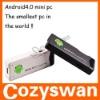 Android4.0 mini PC IPTV Google tv stick MK802 HDMI , mini pc android4.0