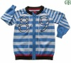 cotton stiped knitting kid clothes