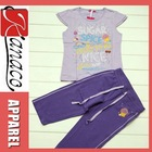 Girl and Boy Dress/Children's Clothing Sets(KN-CS-34)