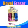 2012 student new style pushing retractable pencil eraser stick