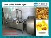 Corn tortilla chips continuous fryer, Doritos chips frying machine