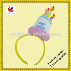 2011 hot sell candles head band for Brithday party