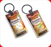 promotion gift pvc custom keychain led